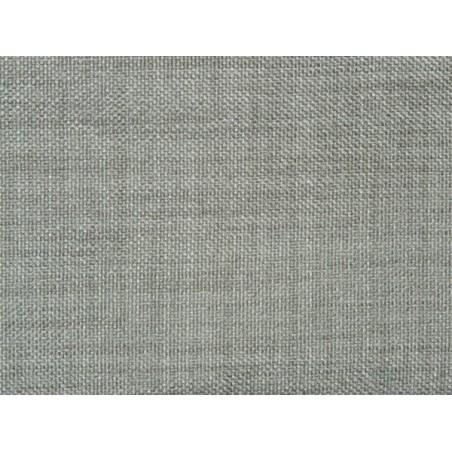 Lot de 1 mètre tissu occultant M1 gris aspect lin