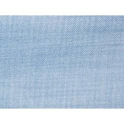 Tissu occultant bleu clair non feu M1 aspect lin 300cm