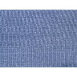 Tissu occultant bleu jean non feu M1 aspect lin 300cm