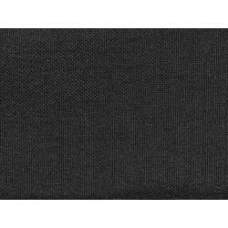 Tissu occultant noir non feu M1 aspect lin 300cm