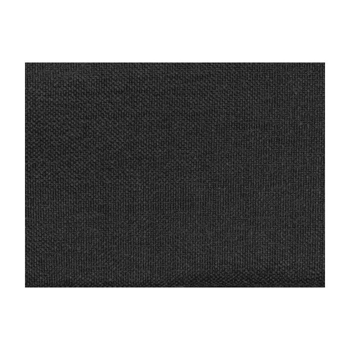 tissu opaque noir non feu aspect lin 300cm. Black Bedroom Furniture Sets. Home Design Ideas