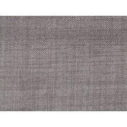 Tissu occultant taupe foncé non feu M1 aspect lin 300cm