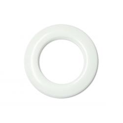Oeillets à clipser pour rideaux coloris Blanc - diamètre 55 mm - lot de 8