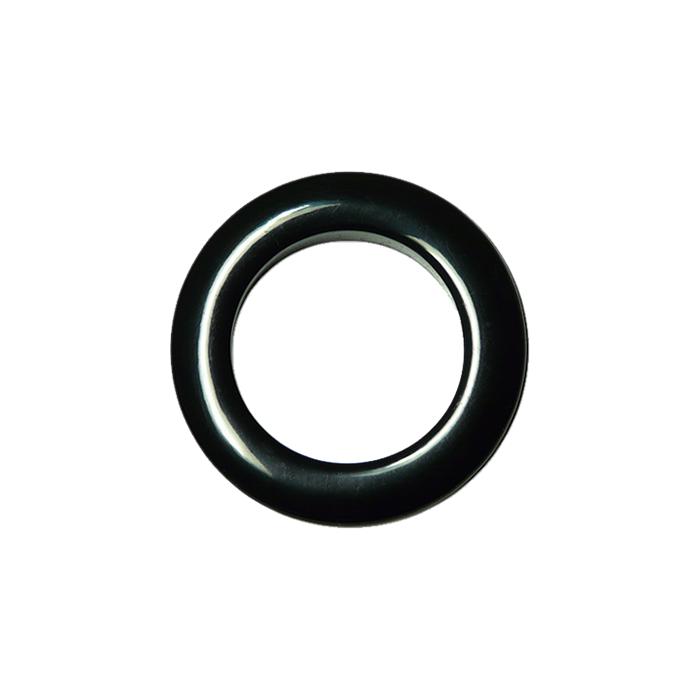 oeillets clipsables diam tre 55mm noir pack de 8. Black Bedroom Furniture Sets. Home Design Ideas