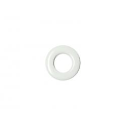Oeillets à clipser pour rideaux coloris Blanc - diamètre 20 mm - lot de 8