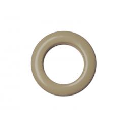 Oeillets à clipser pour rideaux coloris Beige - diamètre 35 mm - lot de 8