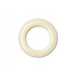 Oeillets à clipser pour rideaux coloris Crème - diamètre 35 mm - lot de 8