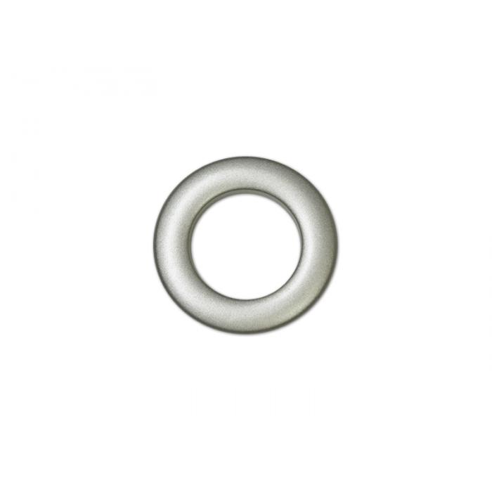 Oeillets à Clipser pour Rideaux Coloris Platine Mat - diamètre 55 mm ...
