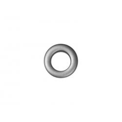 Oeillets à clipser pour rideaux coloris Gris Anthracite - diamètre 20mm - lot de 8
