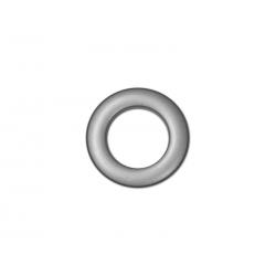 Oeillets à clipser pour rideaux coloris Gris Anthracite - diamètre 28 mm - lot de 8