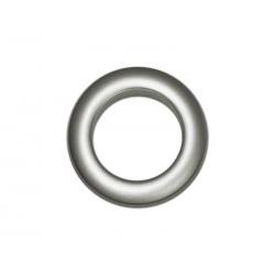 Oeillets à clipser pour rideaux coloris Gris Anthracite - diamètre 35 mm - lot de 8