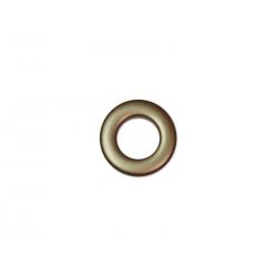 Oeillets à clipser pour rideaux coloris Bronze - diamètre 20mm - lot de 8