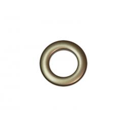 Oeillets à clipser pour rideaux coloris Bronze - diamètre 28 mm - lot de 8