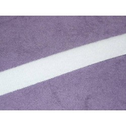 Ruban velours à coudre 20mm blanc