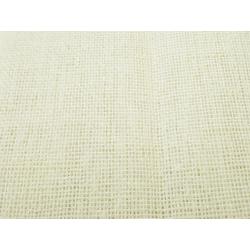 Voilage étamine aspect lin Crème