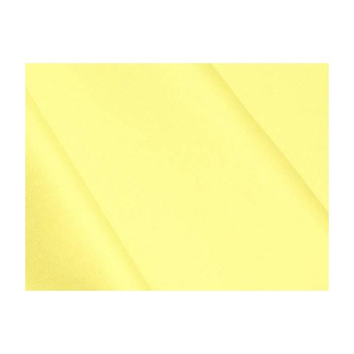 Satin de coton Jaune Citron