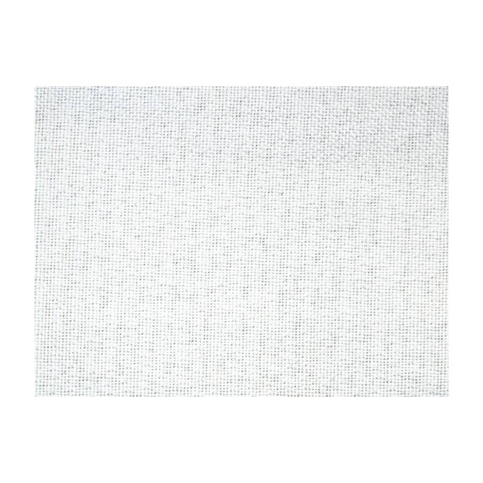 Tissu occultant blanc non feu M1 aspect lin 300cm