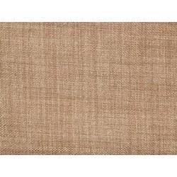 Tissu occultant marron clair non feu M1 aspect lin 300cm