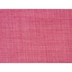 Tissu occultant rose non feu M1 aspect lin 300cm
