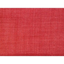 Tissu occultant rouge non feu M1 aspect lin 300cm