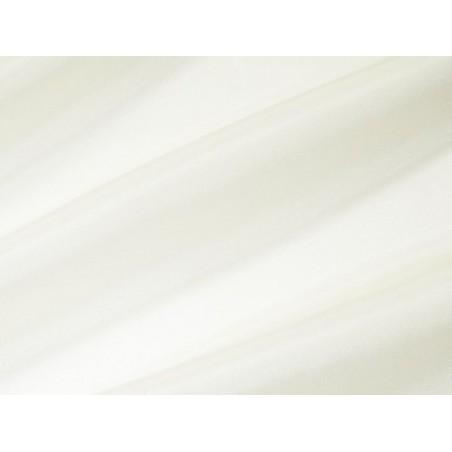 Lot de 4 mètres voilage uni Blanc Cassé