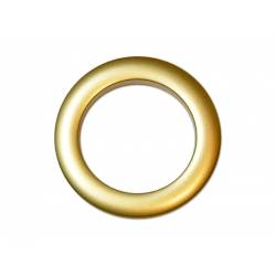 Oeillets à clipser pour rideaux coloris Or Mat - diamètre 55 mm - lot de 8