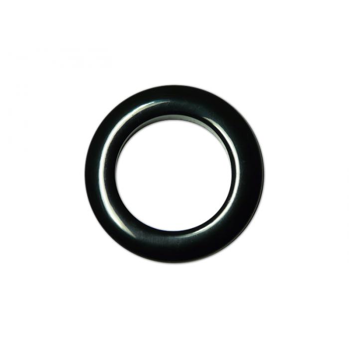 oeillets clipsables diam tre 35mm noir pack de 8. Black Bedroom Furniture Sets. Home Design Ideas