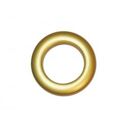 Oeillets à clipser pour rideaux coloris Or Mat - diamètre 35 mm - lot de 8