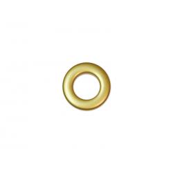 Oeillets à clipser pour rideaux coloris Or Mat - diamètre 20mm - lot de 8