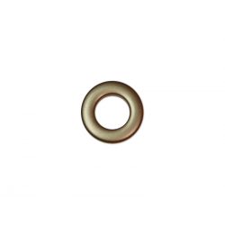 Bronze Plastic Curtain Eyelet Rings Clips 20 mm – pack of 8