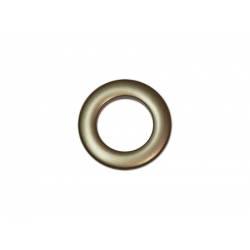 Bronze Plastic Curtain Eyelet Rings Clips 28 mm – pack of 8