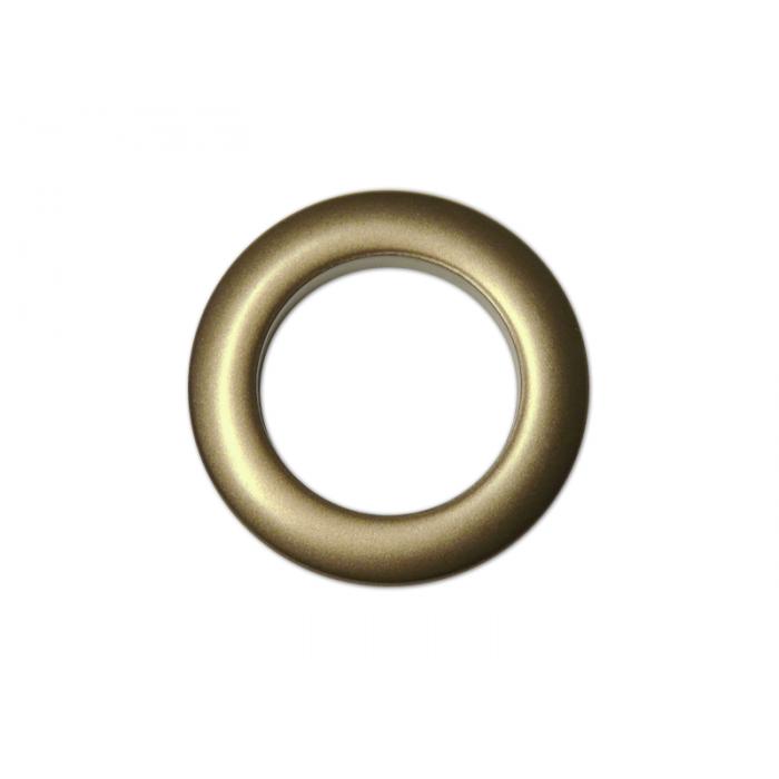 Oeillets à clipser pour rideaux coloris Bronze - diamètre 35 mm - lot de 8