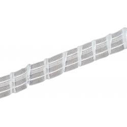 Galon ruflette 29mm pour fenêtre diagonale gauche coefficient 2.0 - vendu au ML