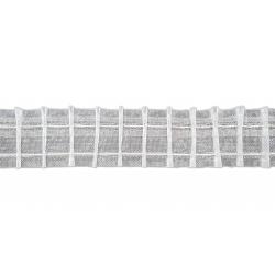 Ruflette pour voilage 50mm coefficient 2.0 - vendu au ML