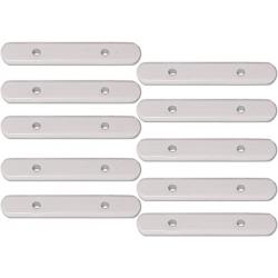 Barrettes de lestage en plomb de 25g pour rideaux - lot de 10