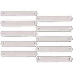 Barrettes de lestage en plomb de 50g pour rideaux - lot de 10