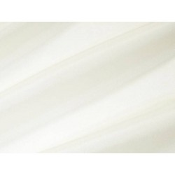 Tissu voile uni polyester Blanc Cassé