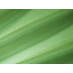 Tissu voile brillant uni Vert Foncé
