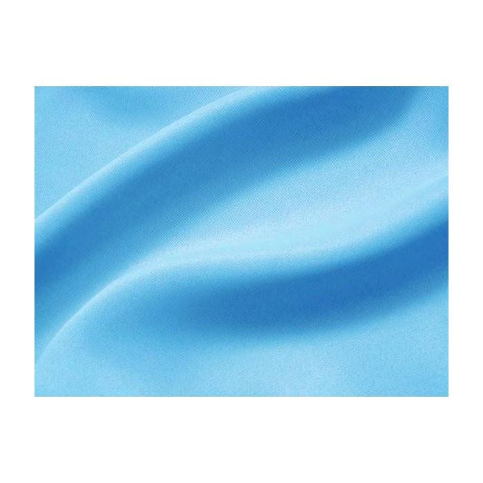 Tissu au métre - occultant non feu Bleu Azur