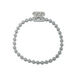 Raccord de chaînette coloris gris