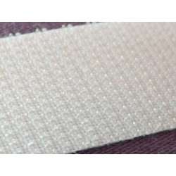 Ruban scratch à coudre 20mm blanc