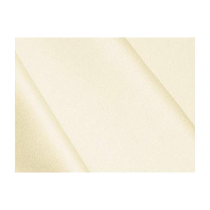 Satin de coton Vanille