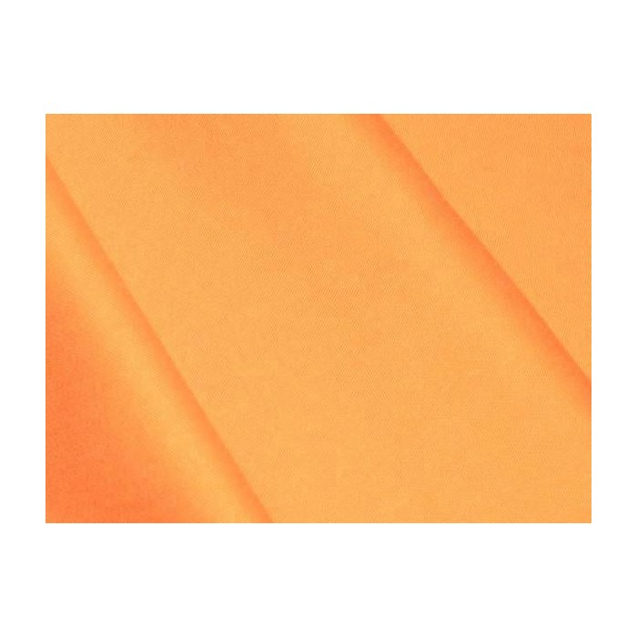 Satin de coton Orange