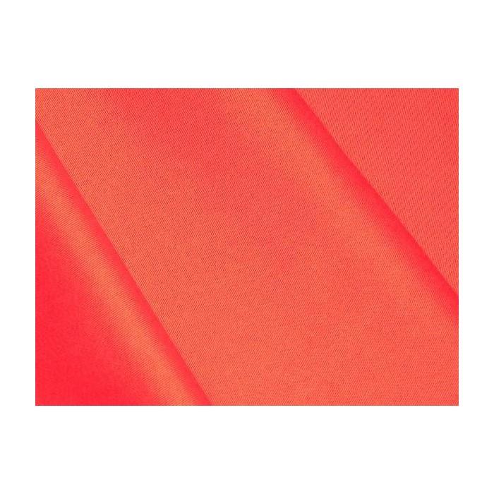 Satin de coton Rouge