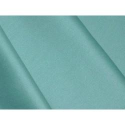 Satin de coton Bleu Pétrole