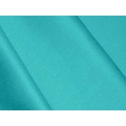 Satin de coton Turquoise